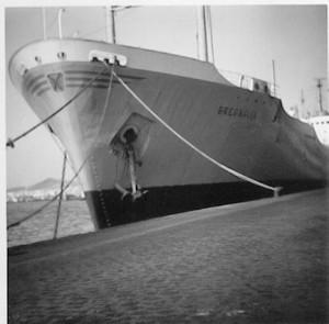 Was für ein Schiff.