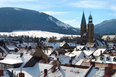 Goslar im Winter.