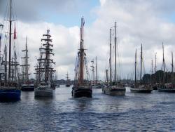 Wie gewohnt: Viele Schiffe.