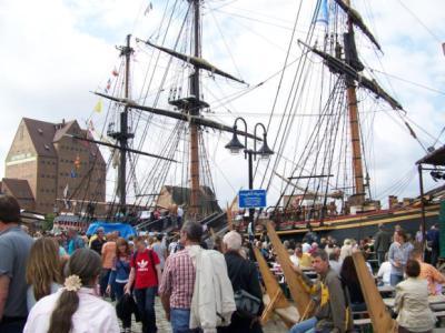 Auf der Hansesail waren die Menschen begeistert.